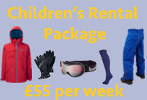 Childrens Rental Package